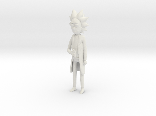 Rick in White Strong & Flexible