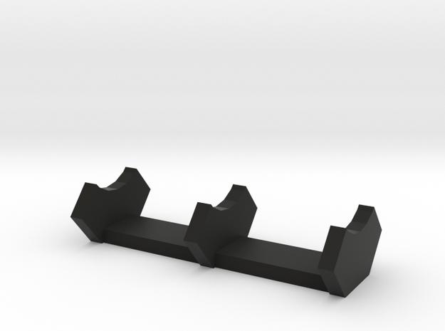 discreet saber stand in Black Natural Versatile Plastic