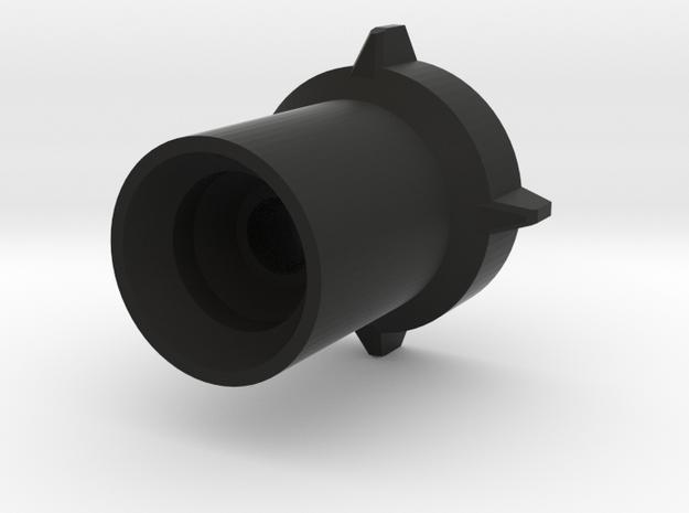 1x Eholder in Black Natural Versatile Plastic: Medium