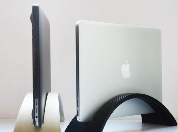 Laptop Stand for Macbook PRO in Frosted Ultra Detail: d4
