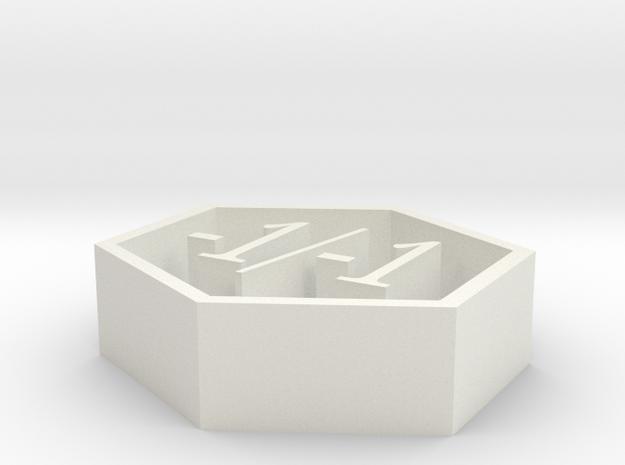 magic -1/-1 counter in White Natural Versatile Plastic