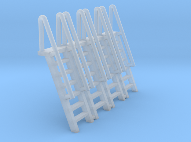 N Scale Ladder 7 (4pc)