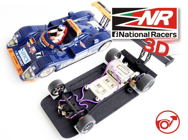 3D chassis - Fly Joest TWR Porsche WSC 95 (SW/In)