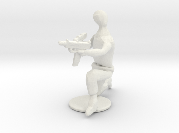Fightersit6 in White Strong & Flexible: 28mm