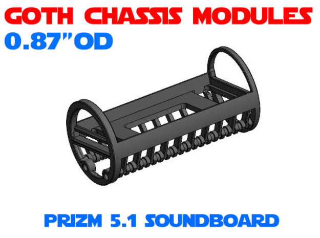 GCM087 - Prizm 5.1 soundboard chassis