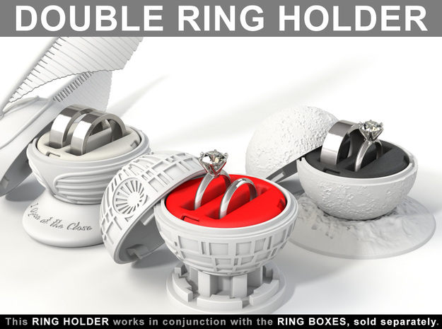 DOUBLE RING HOLDER (REGULAR) To (*) ALL RING BOXES