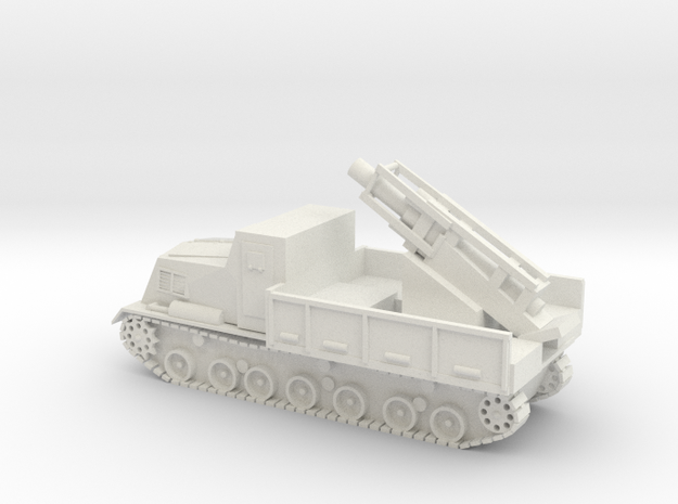 Japanese Ha-To 300mm Armoured Mortar Carrier 15mm  in White Natural Versatile Plastic