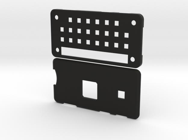 Really Slick Pi Zero Case in Black Natural Versatile Plastic