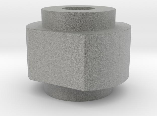 Spinner Cap SD Shaft in Metallic Plastic