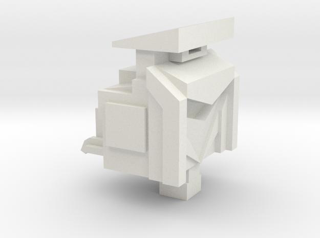 Scrapper: Head to bulldozer in White Strong & Flexible