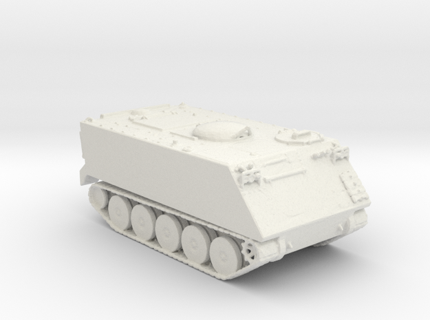 M113 V1 1:220 scale in White Strong & Flexible
