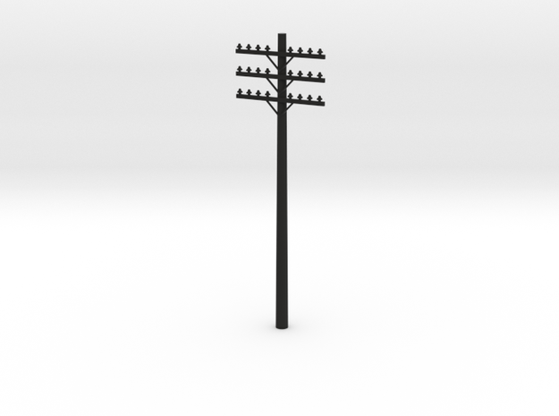 3-Arm Telephone Pole S-Scale