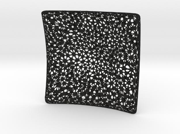 NDMESH_NURBS Cubehole FlatRtwicesub in Black Strong & Flexible