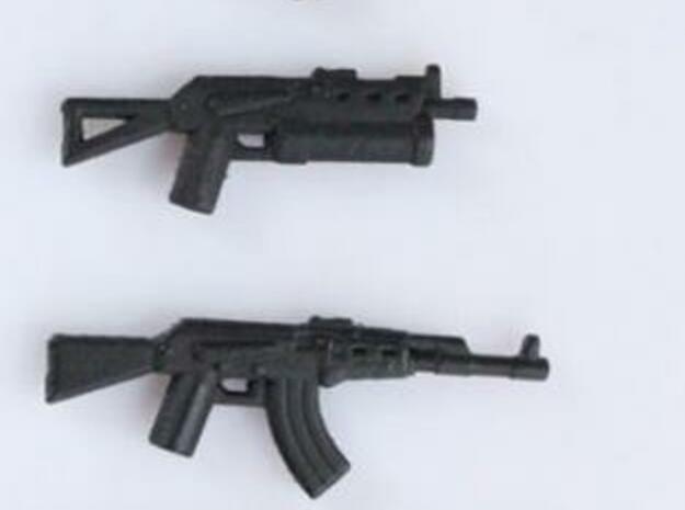 Block- AK Series 3d printed Select guns from the series