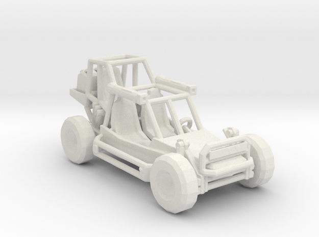 Light Strike Vehicle v1 1:220 scale in White Natural Versatile Plastic