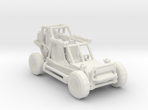 Light Strike Vehicle v2 1:220 scale in White Strong & Flexible