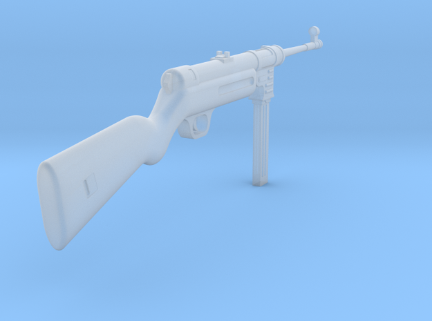 MP41 (1:18 scale) in Smooth Fine Detail Plastic: 1:18