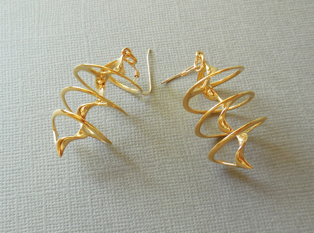Auger - Earrings in precious metal