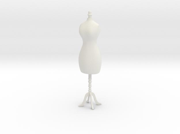 Female mannequin 01. 1:12 Scale