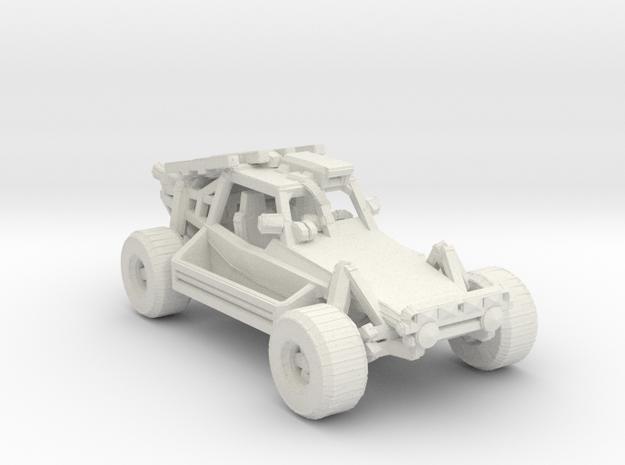 Advance Light Strike Vehicle v2 1:160 scale in White Natural Versatile Plastic