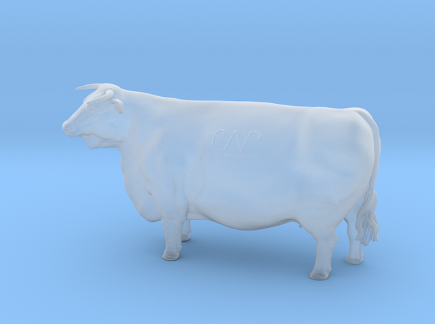 1/64 Horned Hereford Cow2 in Frosted Extreme Detail
