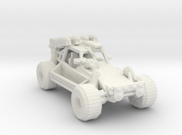 Advance Light Strike Vehicle v3 1:220 scale in White Natural Versatile Plastic