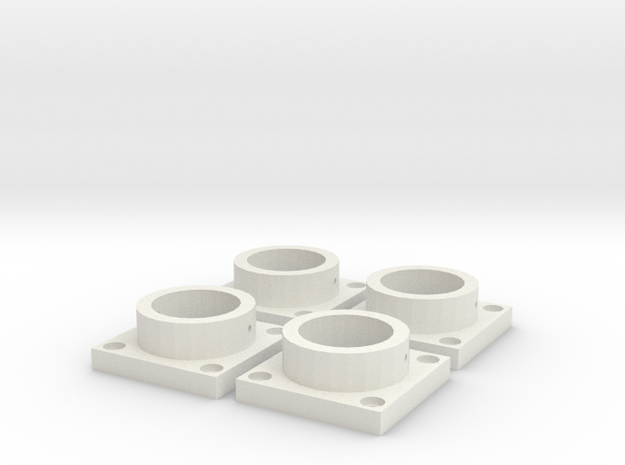 MPConnector - Connector Feet 4 pack in White Strong & Flexible
