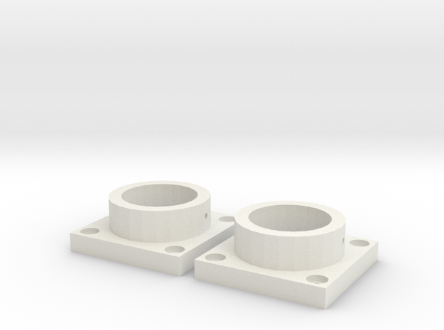 MPConnector - Connector Feet 2 pack in White Natural Versatile Plastic