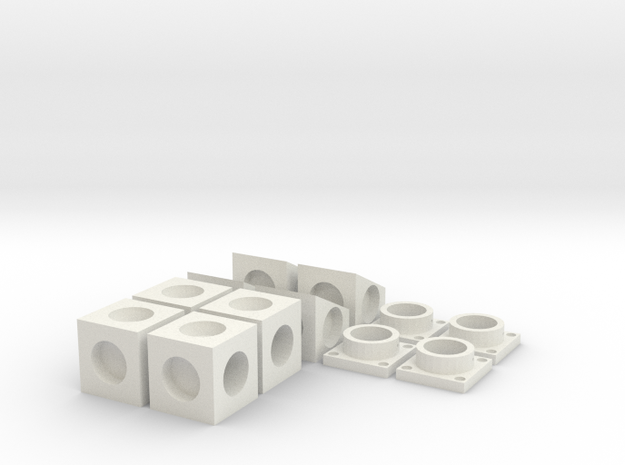 MPConnector Set Basic Bundle in White Strong & Flexible