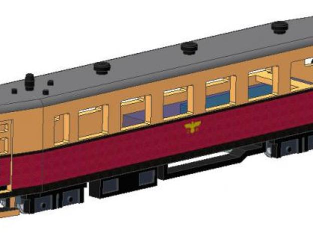 VT 137 322 (1938) in Smooth Fine Detail Plastic