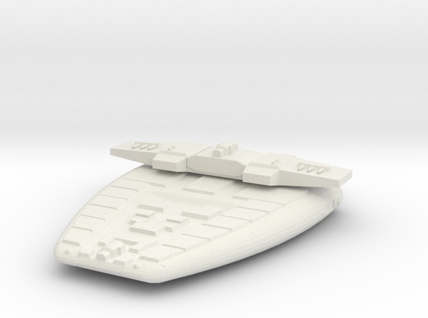 3788 Scale Maesron Light Cruiser (CL) MGL in White Strong & Flexible