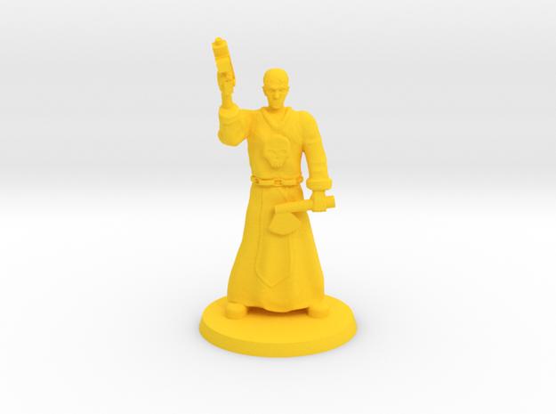 Deathboy Preacher in Yellow Processed Versatile Plastic