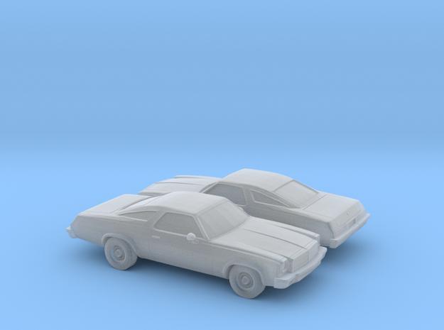 1/160 2X 1975 Chevrolet Chevelle Coupe