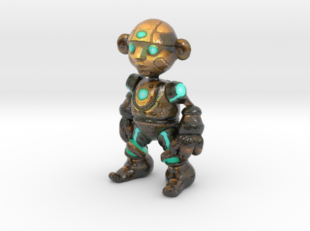 ClockWork Gnome in Glossy Full Color Sandstone