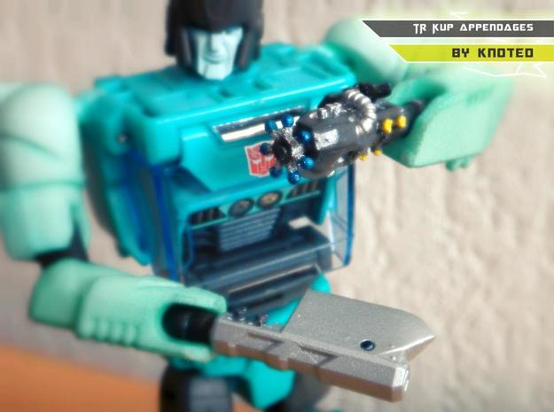 TR Kup Appendages in White Strong & Flexible Polished
