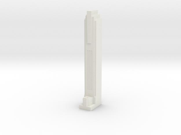 Triple Underpass Walkway Pillar in White Strong & Flexible