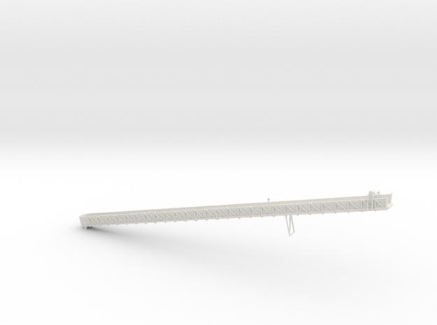 1/64 Sugar Beet Piler Conveyor 110' in White Natural Versatile Plastic