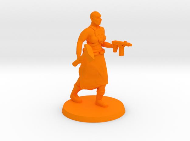Deathgirl Preacher in Orange Processed Versatile Plastic