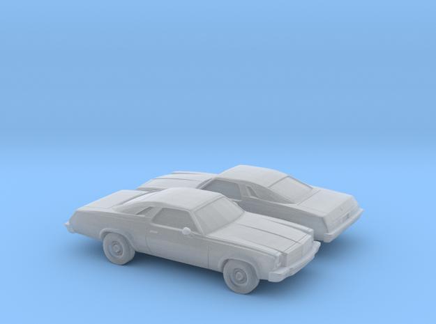 1/160 2X 1975 Chevrolet Chevelle MalibuClassicCoup