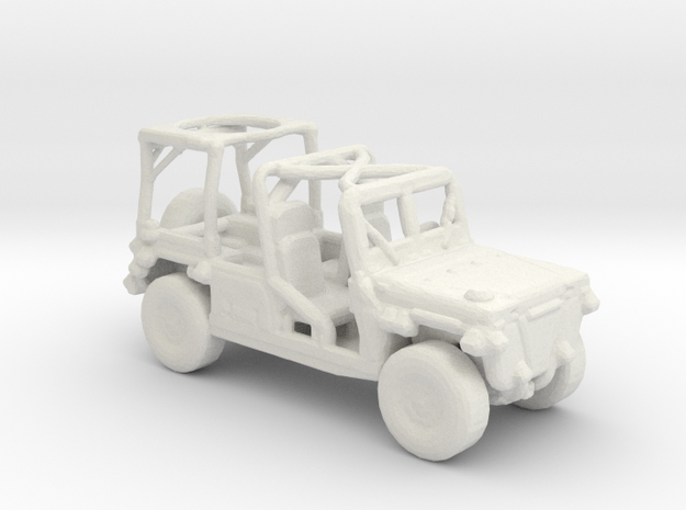 M1161 Growler 1:285 scale in White Natural Versatile Plastic