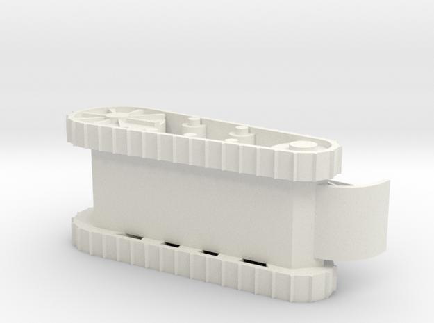 Light Tank in White Strong & Flexible