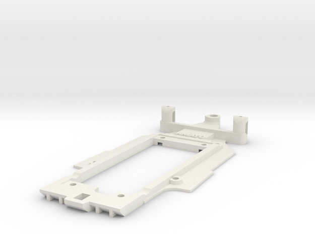 Chassis for Scalextric Renault RS01 (F1) in White Natural Versatile Plastic
