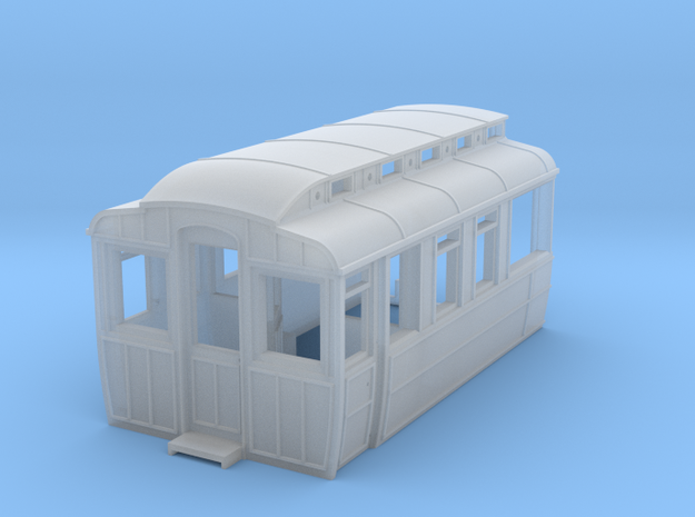 GNR Saloon - End (1/3) in Smooth Fine Detail Plastic