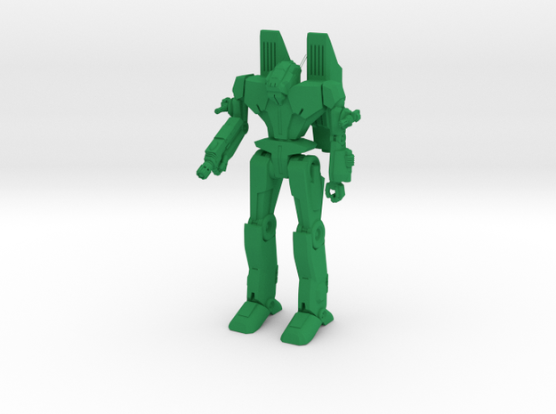 Sigurd Type Combat Walker - 6mm in Green Processed Versatile Plastic