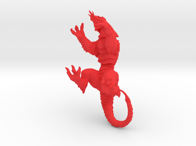 VorkaBeast 003 in Red Strong & Flexible Polished