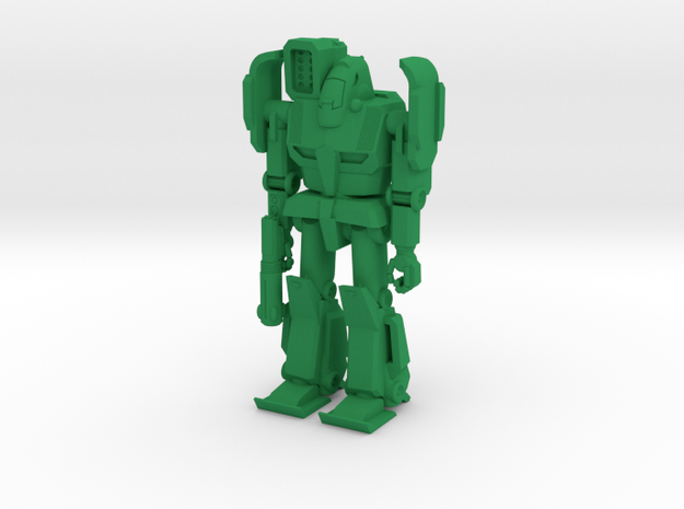 Gryphon Type Combat Walker - 6mm in Green Strong & Flexible Polished