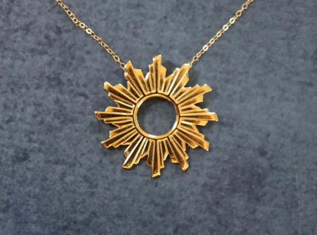 Sun Flare Necklace