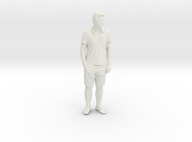 Printle C Homme 115 - 1/32 - wob in White Strong & Flexible