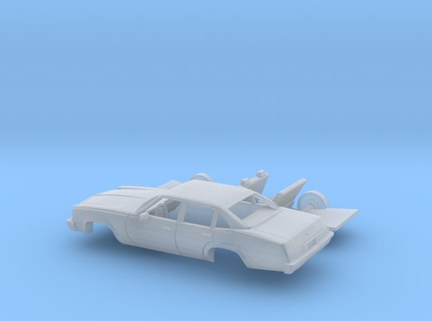 1/160 1975 Chevrolet Chevelle Sedan Kit in Smooth Fine Detail Plastic