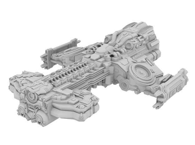 Starcraft 2 - Hyperion Battlecruiser [150mm]